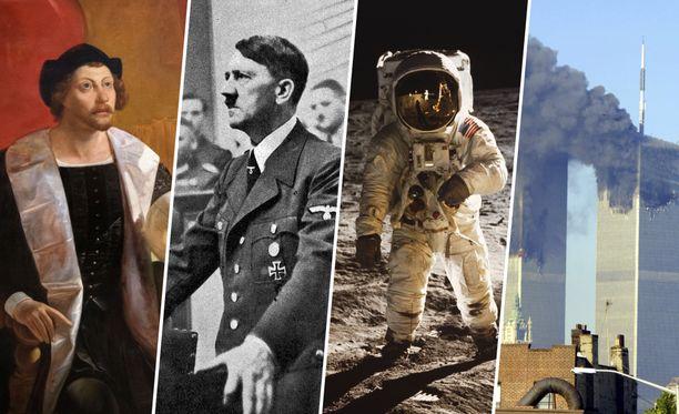 Toisen maailmansodan alku? Ensimmäinen ihminen Kuussa? Hmm...