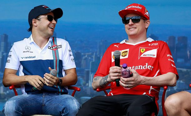 Sekä Felipe Massan että Kimi Räikkösen F1-ura alkoi Sauberin ratissa. He ajoivat tallikavereina Ferrailla vuosina 2007-2009.