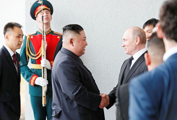 Kim Jong-un ja Vladimir Putin tapaavat Venäjällä lähellä Vladivostokia.