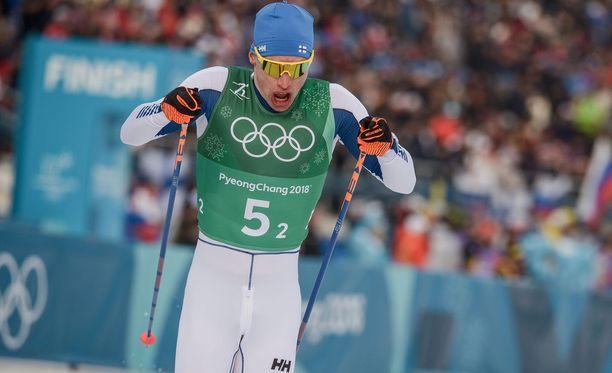 Iivo Niskasen vire lupaa hyvää ensi lauantain 50 kilometrin kilpailua ajatellen.