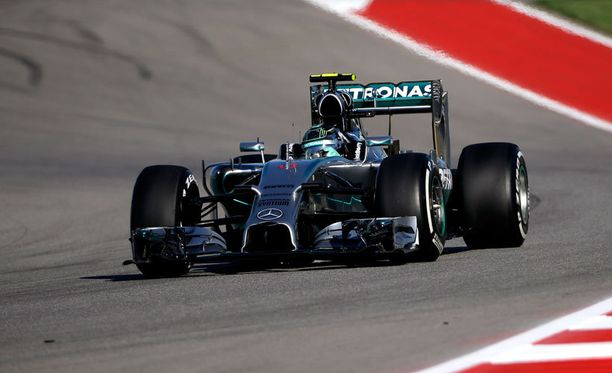 Nico Rosbergin menopeli on iskussa.