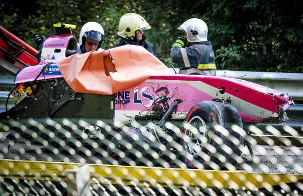 Anthoine Hubert menehtyi Formula 2 -sarjan Belgian kilpailussa sattuneessa onnettomuudessa.