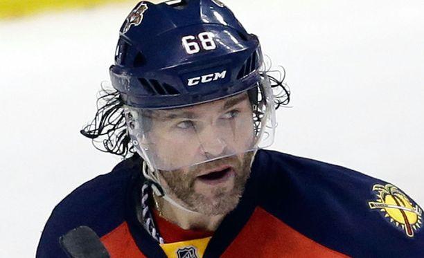 Jaromir Jagr nousi Gordie Howen rinnalle NHL:n kaikkien aikojen pistepörssissä.