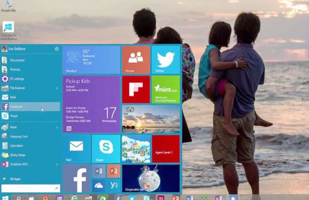Microsoft esitteli uuden käyttöjärjestelmän Technical Preview -esiversiota videolla.