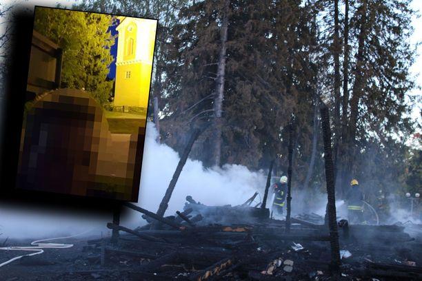 Epäilty kävi Kiihtelysvaaran kirkolla pari viikkoa ennen tulipaloa ja otti selfien. Poliisi ei vielä ota kantaa siihen, kuinka suunnitelmallinen teko oli.