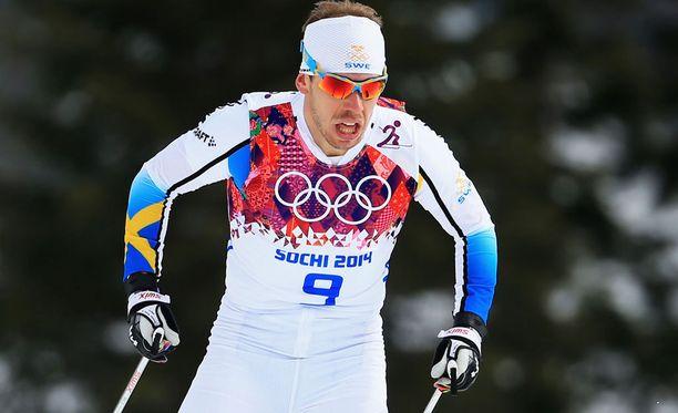 Emil Jönsson hiihti Sotshin olympiasprintissä pronssille.