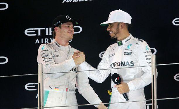Nico Rosbergin ja Lewis Hamiltonin yhteinen taival Mercedeksellä päättyi sunnuntaina.