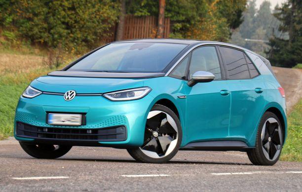 Volkswagen ID.3 kipusi myydyimpien autojen kärkeen, vaikka auto on vasta tullut markkinoille.
