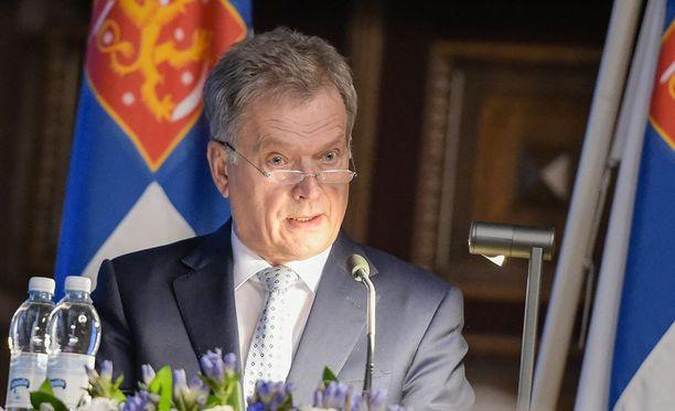 Tasavallan presidentti Sauli Niinistö sanoi maanpuolustuskurssin avajaisissa, että Suomen etu ei ole lietsoa vastakkainasettelua.