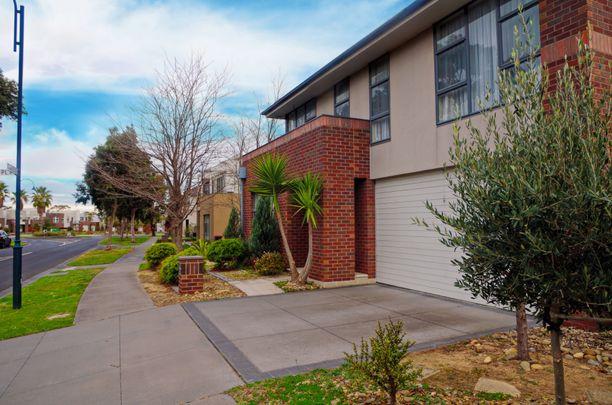 Vuokrattu asunto sijaitsee Melbournen esikaupunkialueella.