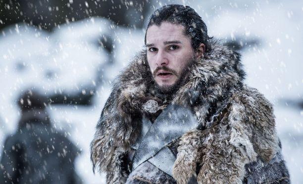Kit Harington esittää Game of Thronesissa Jon Snow'ta.