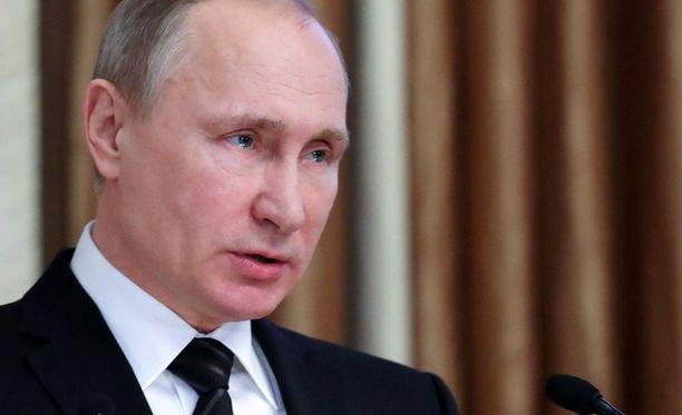 Venäjä voi halutessaan reagoida sotilaallisesti todella nopeasti. Kuvassa presidentti Vladimir Putin.