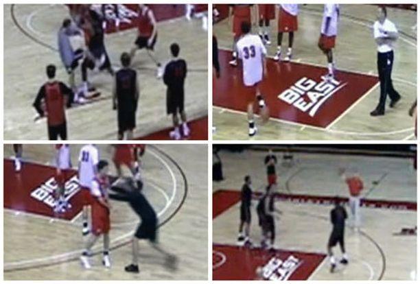 Mike Rice potki ja löi pelaajiaan, heitti heitä palloilla ja kutsui homoiksi.