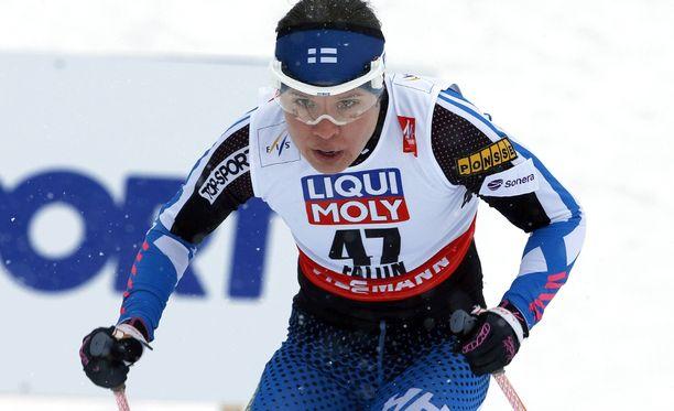 Kerttu Niskanen oli paras suomalainen Salpausselän kympillä.