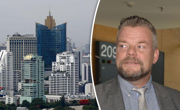 Jari Sillanpää on Seiskan tietojen mukaan muuttamassa Thaimaan pääkaupunkiin Bangkokiin. Ehdollinen rangaistus huumerikoksesta voi olla este, jos Sillanpää haluaa viettää Thaimaassa yli turistiviisumin sallimat 90 päivää.