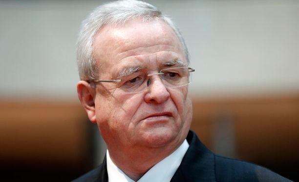 Volkswagenin entinen toimitusjohtaja Martin Winterkorn.