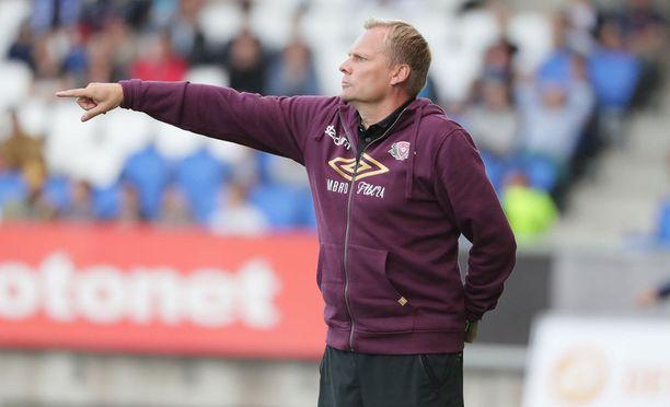 Päävalmentaja Toni Korkeakunnaksen komentama FC Lahti on vaikeasti voitettava miehistö.
