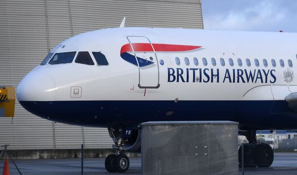 British Airways lopettaa lennot Kiinaan.
