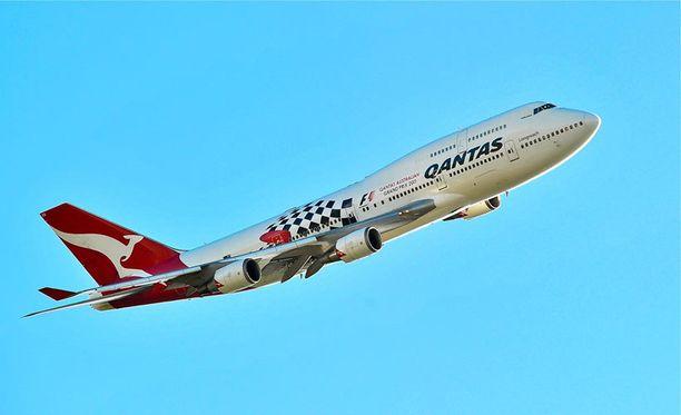 94-vuotias australialaislentoyhtiö Qantas on lentosivuston mukaan maailman turvallisin lentoyhtiö.