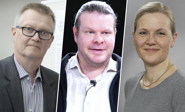 Heikki Tikkanen, Tuomas Aivelo ja Ursula Schwab