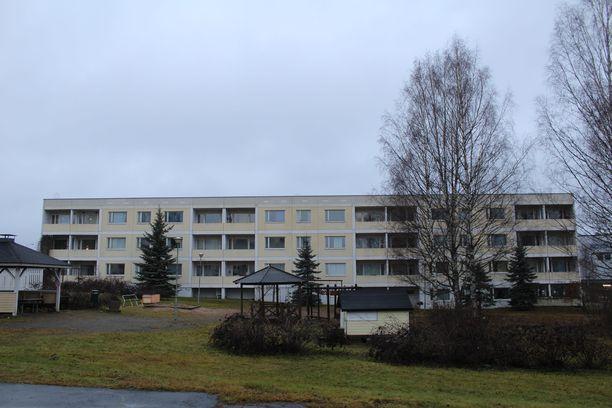 Henkirikos tapahtui kuvan vuokratalossa Jyväskylässä.