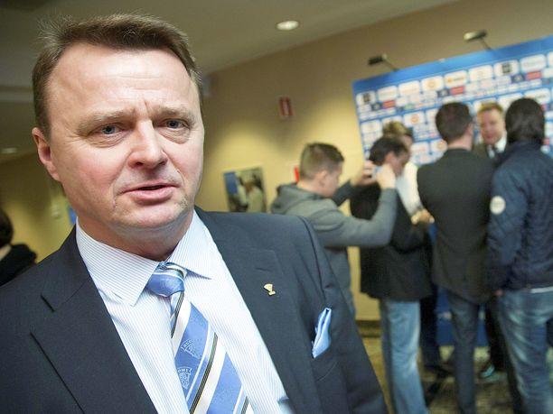 Jukka Toivakka on paitsi Mikkelin Jukurien puheenjohtaja myös Suomen jääkiekkoliiton varapuheenjohtaja.