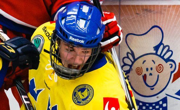 Ratista kärynnyt Victor Öhman on edustanut Ruotsia nuorten maajoukkueissa.