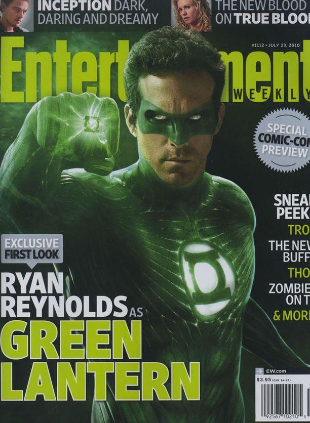 PÄÄROOLI Reynolds nähdään seuraavan kerran valkokankaalla nimikkoroolissa supersankarielokuvassa Vihreä Lyhty, joka tulee ensi-iltaan ensi kesänä.