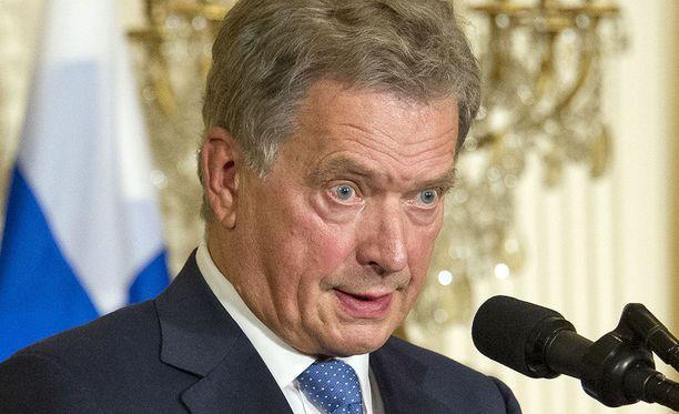 Presidentti Sauli Niinistö osallistuu tällä viikolla YK:n yleiskokoukseen.