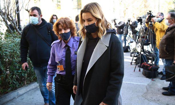 Sofia Bekatorou todisti oikeudessa tammikuun 20. päivänä.