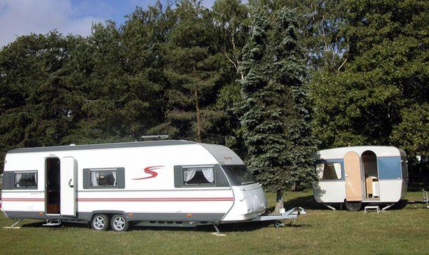 Irlantilaiset karavaanarit ovat aiheuttaneet häiriötä leirintäalueilla ympäri Suomea. Kuvan asuntovaunut eivät liity tapaukseen.
