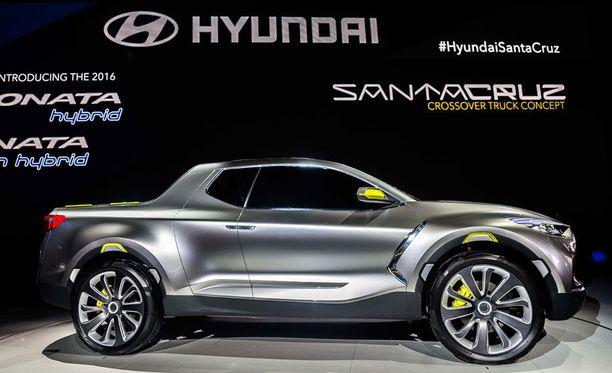 Hyundain maasturia komeimmillaan.
