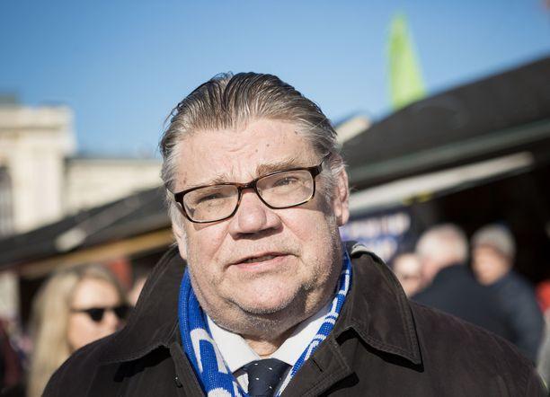 Timo Soini tuntee kiinnostusta vuoden 2024 presidentinvaaleihin.