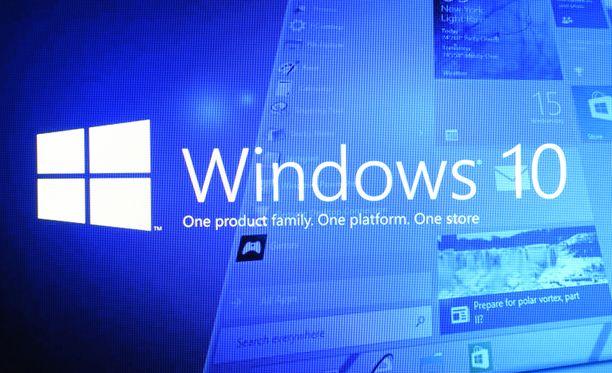 Windowsin asetuksia kannattaa käydä läpi.