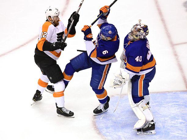 Flyers ja Islanders ottavat yhteen seiskapelissä.