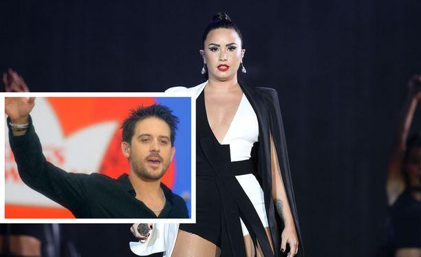 Lovato ja Gillum bongattiin Yhdysvaltalaisesta yökerhosta viime yönä.