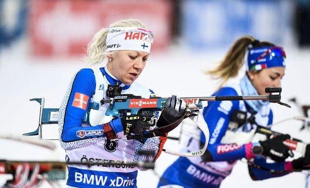 Kaisa Mäkäräisen sijoitukset Östersundin maailmancupin kisoissa viime viikolla olivat 11, 6 ja 7. Suomalainen menetti kärkisijoitukset sunnuntain tapaan ammuntapaikalla.