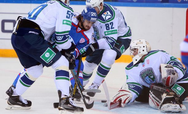 Venäläismedian mukaan Jugran ja Ladan KHL-pelit on pelattu. Kuva vuodelta 2014.
