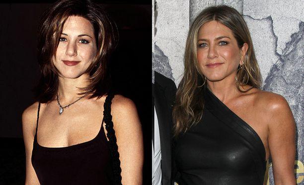 Jennifer Aniston eli Rachel Green.