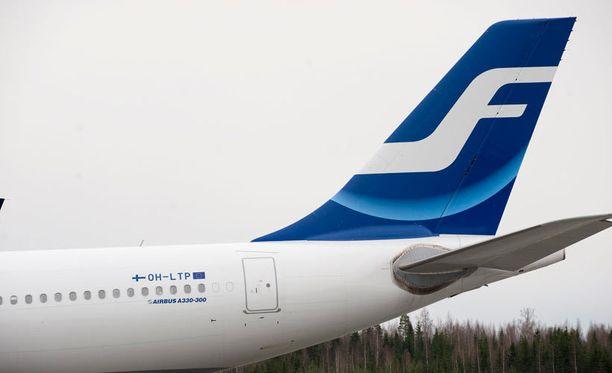 Finnair perui keskiviikkona lentonsa Helsinki-Vantaalta Tel Aviviin.