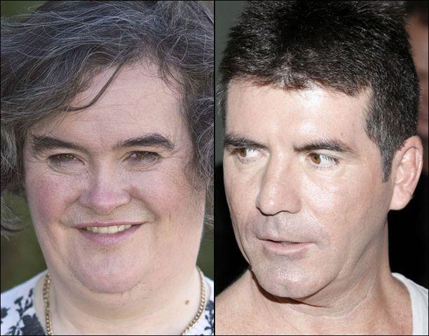 Simon Cowell pelkää julkisuuden häiritsevän Susan Boylen keskittymistä itse kisaan.