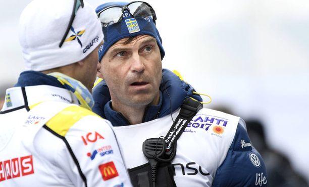"""Ruotsin maajoukkueen lääkäri Per """"Pliggen"""" Andersson toivoo Norjan hiihdon toimijoilta nöyrempää suhtautumista dopingasioihin."""