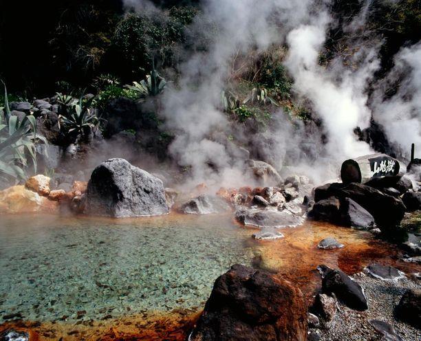 Yksi Beppun kahdeksasta helvestä, Vuoristohelvetti.