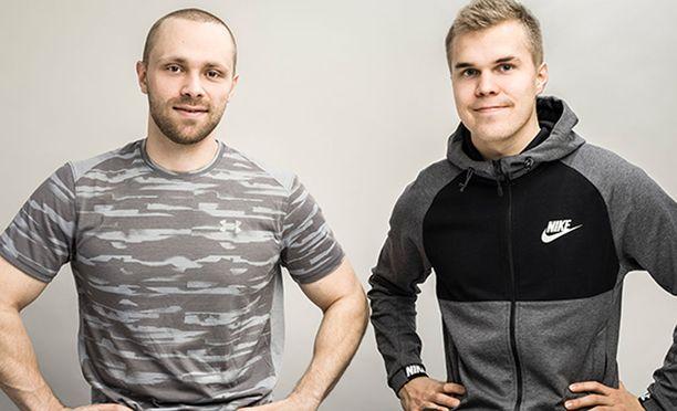 Joosua Visuri ja Joonas Haapasaari tietävät, kuinka omaa brändiä rakennetaan somessa.