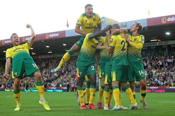 Jatkaako Norwich juhlia Burnleyä vastaan?