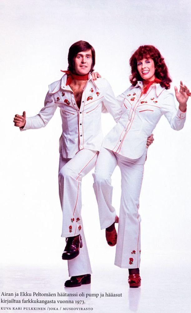 Airan ja Ekun naimisiinmenosta vuonna 1973 nousi kohu. Parin ikäero oli 19 vuotta.