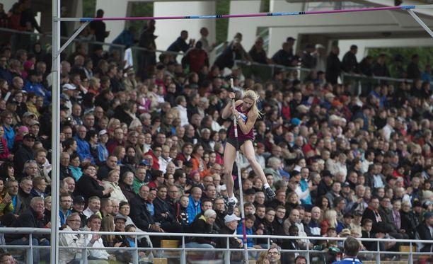 Turun urheilupuistossa järjestettävä Paavo Nurmi Games on viime vuosina vetänyt stadionin lehterit täyteen katsojia.