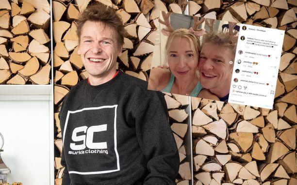Toni Nieminen kertoi ennen joulua löytäneensä elämäänsä uuden rakkaan.