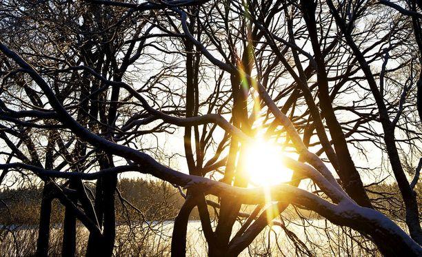 Sateiset ja tuuliset päivät vaihtuvat korkeapaineen myötä aurinkoon ja pakkaslukemiin.