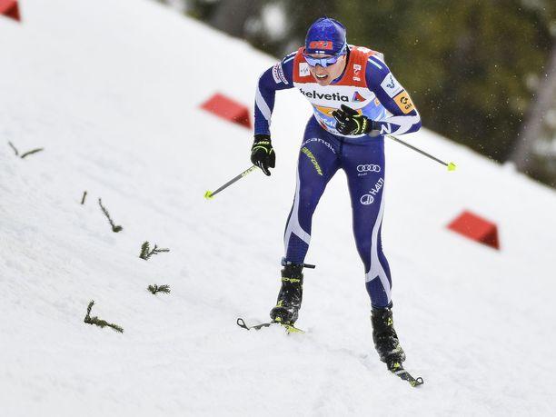 50 kilometriä hiihdettiin arvokisoissa vapaalla viimeksi kaksi vuotta sitten Lahdessa. Matti Heikkinen voitti tuolloin pronssia.